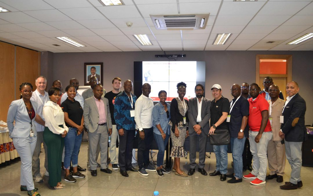 VISIT OF THE DELEGATION AT THE 2nd CONFERENCE AND EXHIBITION  ABOUT LOCAL CONTENT IN THE OIL AND GAS INDUSTRY IN AFRICA – LAC 2018