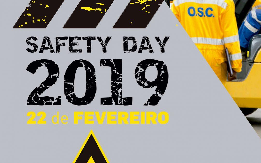 """Safety day 2019 """"Avaliar, Prevenir e Controlar Riscos"""""""