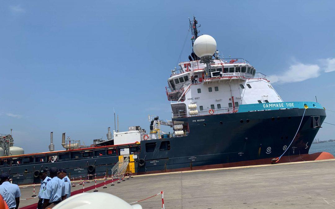 CHEVRON inaugura segundo navio de estimulação de poços na base da SONILS